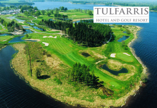 Two ball at Tulfarris Golf Resort with goody bag