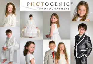 First Communion portrait at Photogenic.