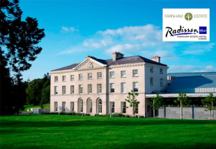 1 night luxury spa break at Farnham Estate Hotel