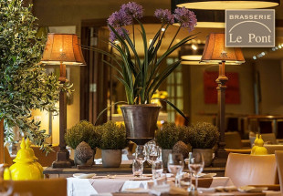 A 3 course dinner for two at Brasserie le Pont