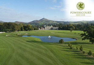 Golf & lunch for 2 at Powerscourt Golf Club