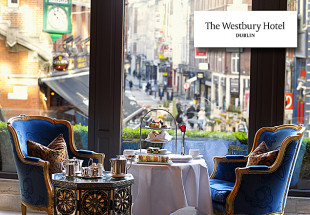Afternoon Tea at The Westbury Hotel, Dublin