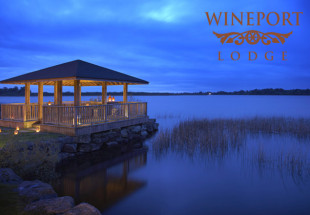Luxury lakeside getaway at Wineport Lodge