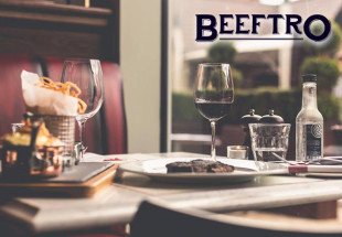 3 course dinner at Beeftro, Balfe St.
