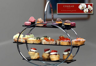 Afternoon Tea for two at the Conrad Hotel.