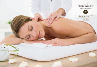 A customised 1hr massage plus €10 voucher