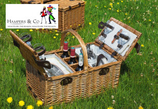 Classic Picnic Basket from Hampers & Co
