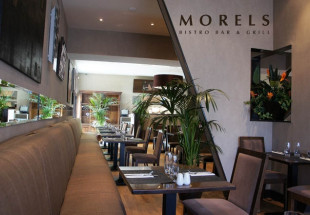 4 course dinner for 2 including wine at Morels