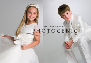 First Communion portrait special at Photogenic