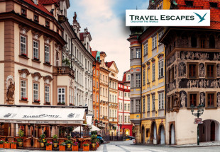 Prague City Break on 3rd or 10th November 2014