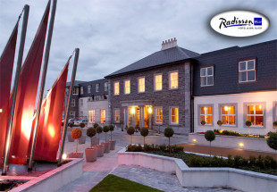 Two nights at Radisson Blu Hotel, Sligo