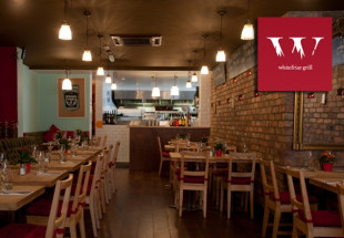4 course dinner with wine at Whitefriar Grill