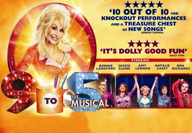 "Premium ticket to ""9 TO 5 The Musical"""