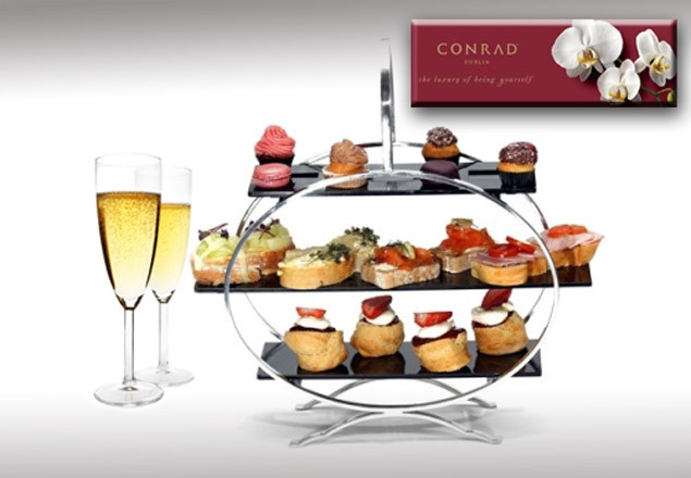 Champagne Afternoon Tea at the Conrad Hotel