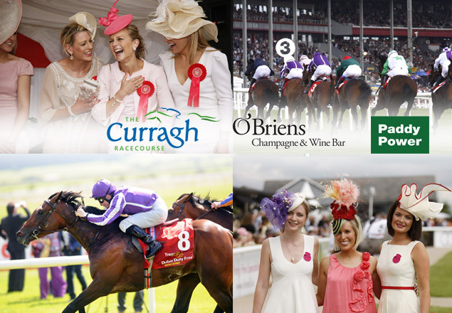 Etihad Airways Ladies day at the Curragh