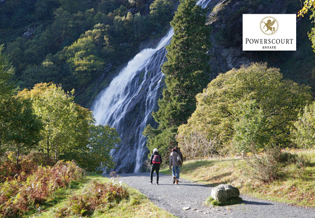 Half price entry to Powerscourt Waterfall