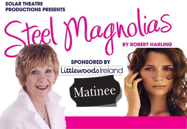 Matinee ticket to Steel Magnolias at The Gaiety