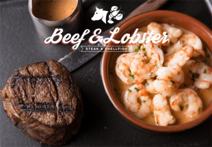Surf & Turf' Special @ Beef & Lobster Temple Bar