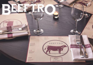 3 courses with wine at Beeftro Balfe St