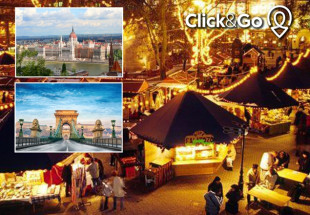 5* Budapest Christmas Markets €698 for 2 people