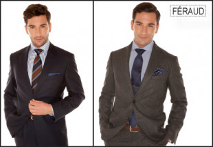 A Louis Féraud suit from the new collection.