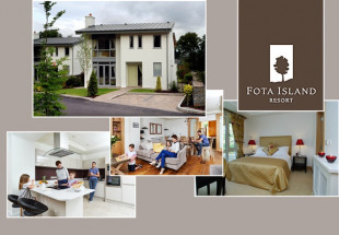 2 night lodge stay with spa credit at Fota
