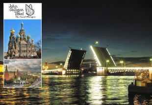 Russia Guided Tour with John Galligan travel