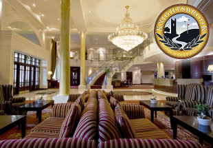 1 night stay with dinner at Knightsbrook