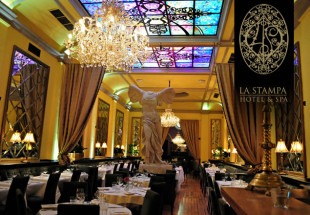 5 course dinner for two at La Stampa
