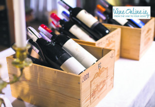A case of wines from WineOnline.ie