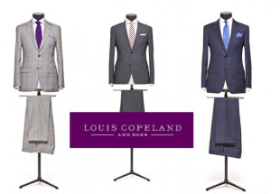 Personalise a suit at Louis Copeland & Sons