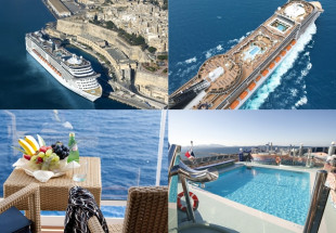 Luxury 4 star Cruise Holiday for two people.