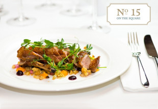 Dinner for two with wine at Hotel Meyrick