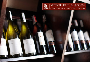 Case of fine wines from Mitchell & Son
