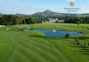 2 ball at Powerscourt Golf Club including lunch
