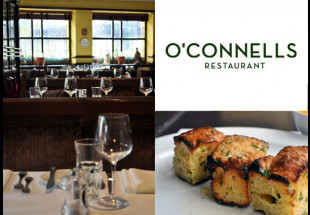 3 Course dinner with wine at O'Connells