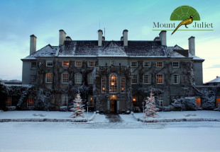 2 night stay at Mount Juliet Hotel