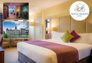 Luxury one-night stay at the Royal Marine Hotel
