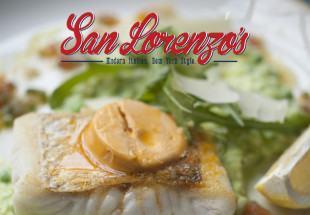 3 course lunch for 2 at San Lorenzo's
