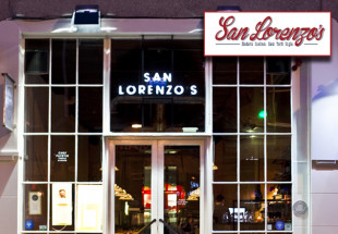 3 course dinner with wine at San Lorenzo's