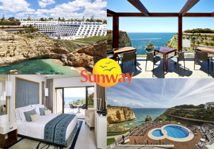 5 star escape for 2 to the Algarve with Sunway
