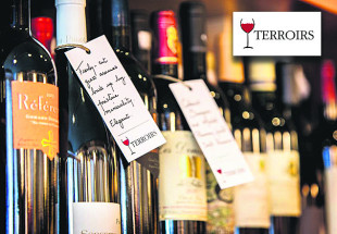 6 wines & more from TERROIRS