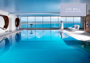 Luxury spa day at The Cliff House Hotel.