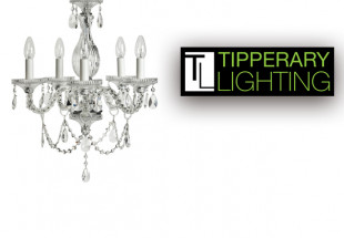 Sarah Chandelier from Tipperary Lighting