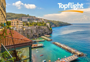Seven night holiday for two in Sorrento