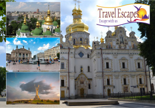 Six night escorted tour for two in Ukraine