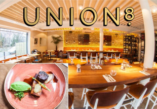 Three course meal for two at Union8