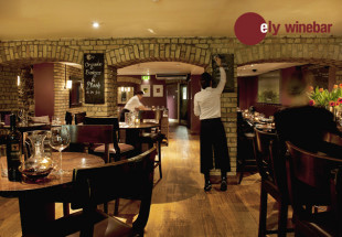 Three course dinner with wine at ely wine bar