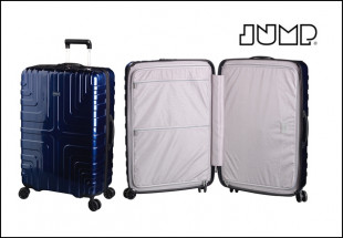 Jump Crossline Blue Suitcase