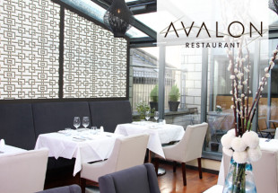 3 course dinner with wine at Avalon